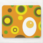 Egg and Polka Dots! Mouse Pads