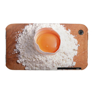 Egg and Wheat Flour iPhone 3 Cover