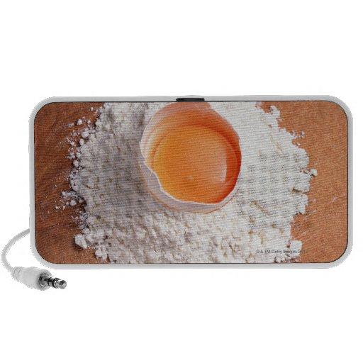 Egg and Wheat Flour Laptop Speaker