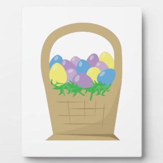 Egg Basket Photo Plaques