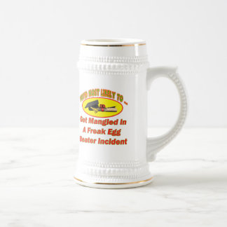 Egg Beater Incident Beer Stein
