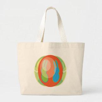 EGG-BUNN08.png Large Tote Bag