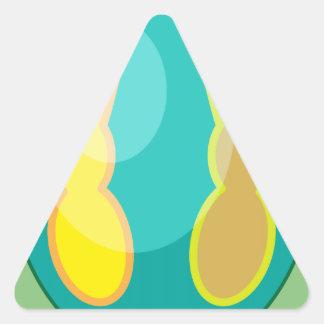 EGG-BUNN13.png Triangle Sticker