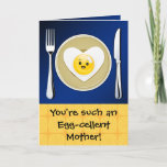 Egg-cellent Kawaii Mother's Day Greeting Card