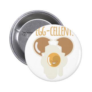 Egg-cellent Pinback Button