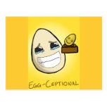 Egg-Ceptional Postcard
