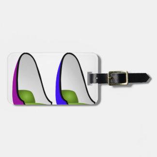Egg chair- interior design furniture bag tags