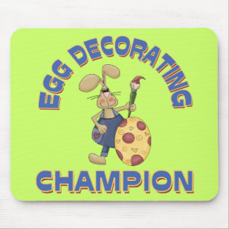 Egg Decorating Champion Mouse Pads