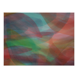 Egg Die Abstract Large Poster