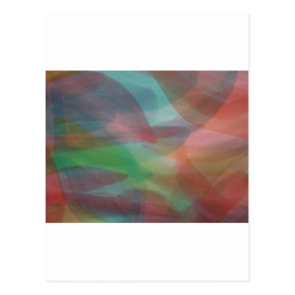 Egg Die Abstract Notcard Postcard