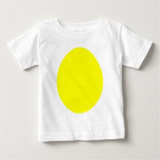 Egg el jGibney amarillo sólido los regalos de Playera De Bebé