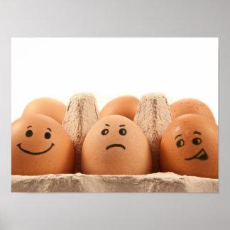 Egg emotions. poster
