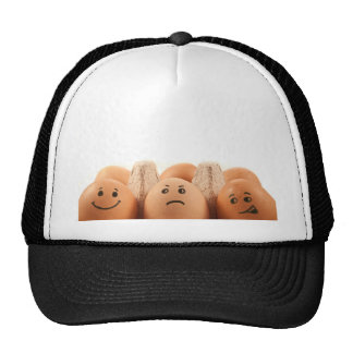 Egg emotions. trucker hat