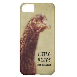 Egg Farmer or Heritage Chicken Breeder Hatchery Cover For iPhone 5C