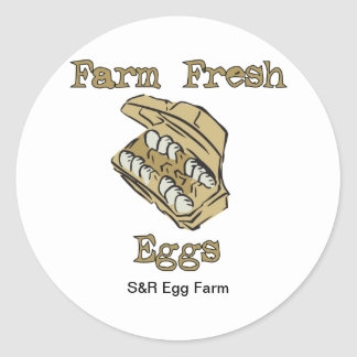 Egg For Sale Stickers - Farm Fresh Eggs