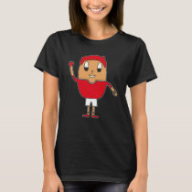 Egg Handball-Player T-Shirt