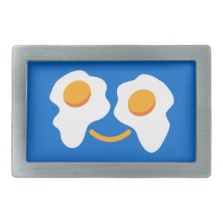 Egg happy face belt buckle