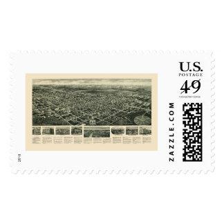 Egg Harbor City, NJ Panoramic Map - 1924 Postage