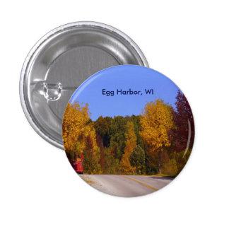 Egg Harbor, WI Fall Season with Trolley Car Button