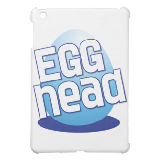 egg head easter bald funny iPad mini case