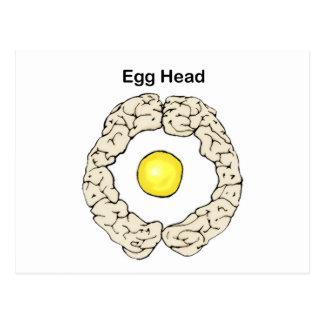 Egg Head Postcard
