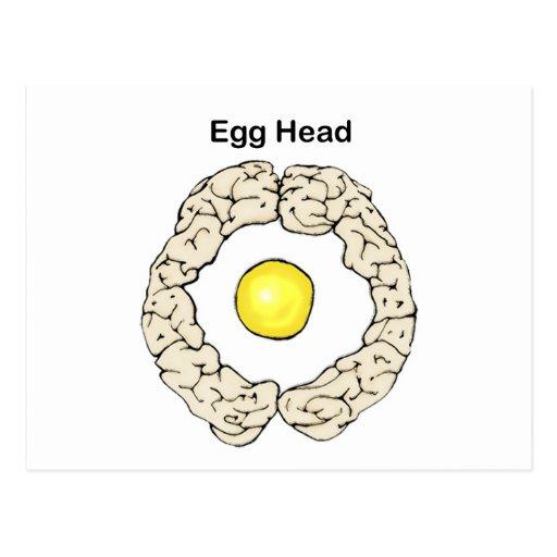 Egg Head Postcards