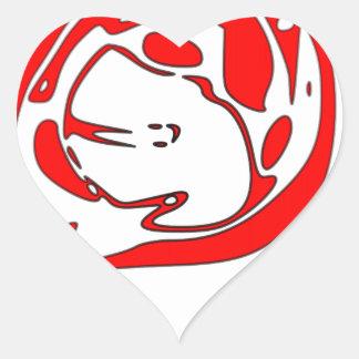 Egg Heart Sticker