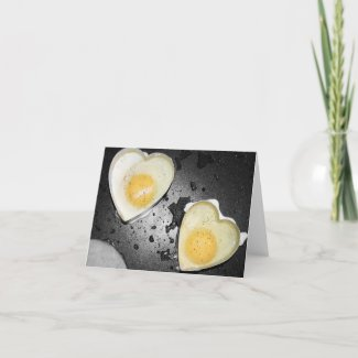 Egg Hearts Holiday Card