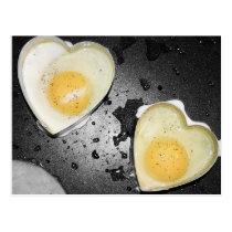 Egg Hearts Postcard