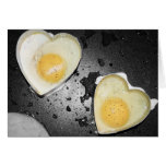 Egg Hearts Stationery Note Card