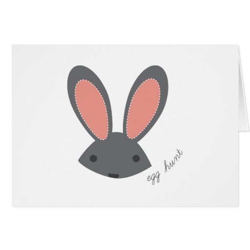 Egg Hunt Greeting Card