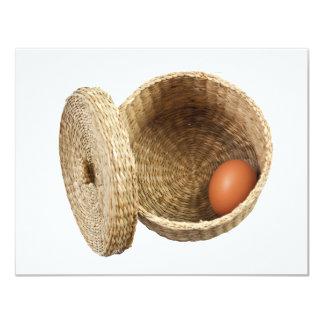 Egg in basket card