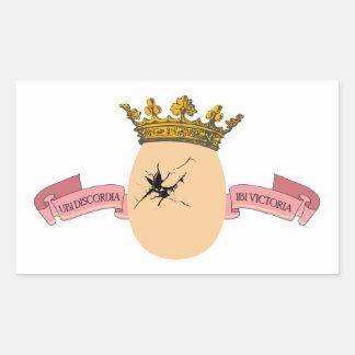 Egg King sticker