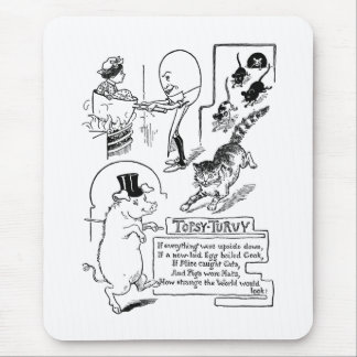 Egg Man Cooking Woman in Pot Mouse Pad
