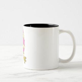Egg Man Two-Tone Coffee Mug