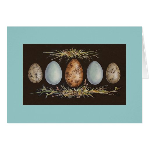 Egg March card