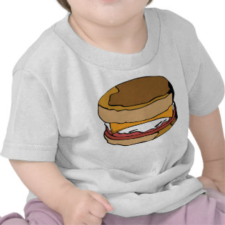 Egg muffin tee shirt