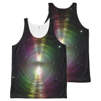 Egg Nebula - Front and Back, All-Over Print Tank Top