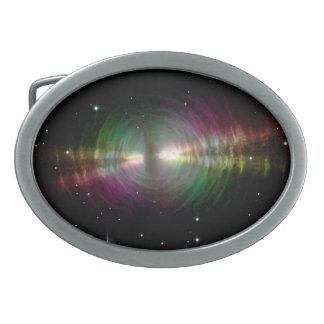 Egg Nebula - Space, Stars, Galaxy Belt Buckle