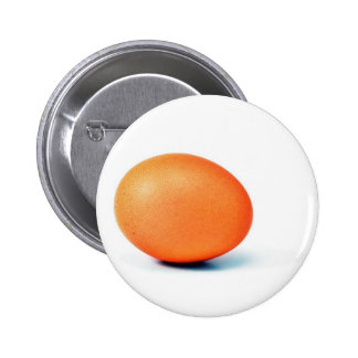 Egg On The White Background Pinback Button