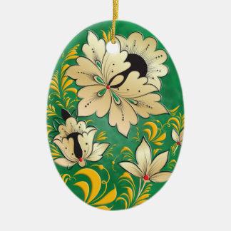 Egg Ornament - Russian Folk Art 1B
