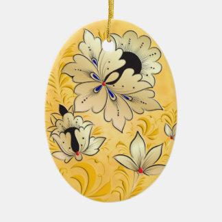 Egg Ornament - Russian Folk Art 2B-NBG