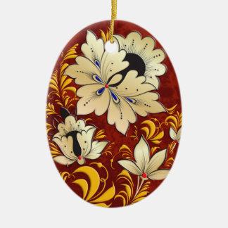 Egg Ornament - Russian Folk Art 4B