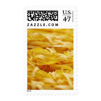 Egg Pasta, Pasta, Tagliatelle, Italian, Raw, Postage Stamp