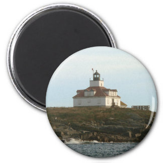 Egg Rock Lighthouse 2 Inch Round Magnet