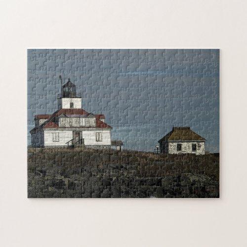 Egg Rock Lighthouse Puzzle puzzle