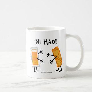Egg Roll & Duck Sauce - Ni Hao! Coffee Mug