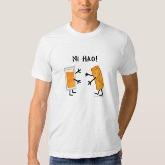 Egg Roll & Duck Sauce - Ni Hao! T-shirt