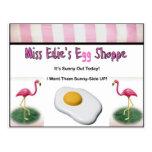 Egg Shoppe de Srta. Edie Tarjetas Postales