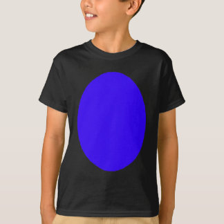Egg SolidBlue The MUSEUM Zazzle Gifts T-Shirt